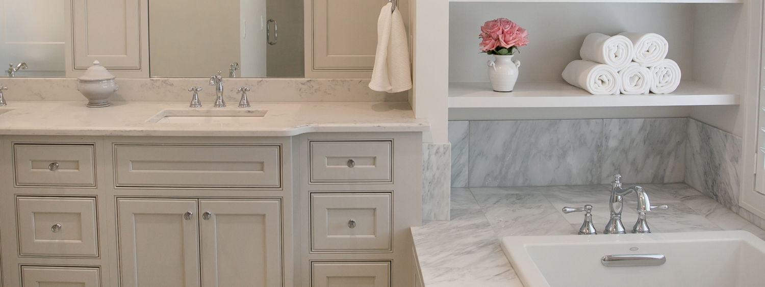 Master Bath Cabinets By Plato With Crystal Hardware