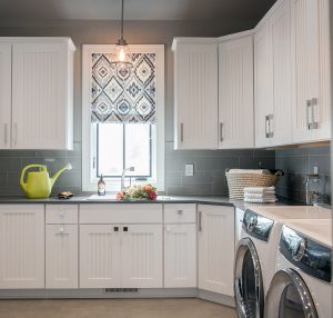 Laundry Room Cabinets with storage