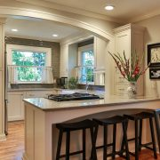 Cottage Charm kitchen cabinet remodel