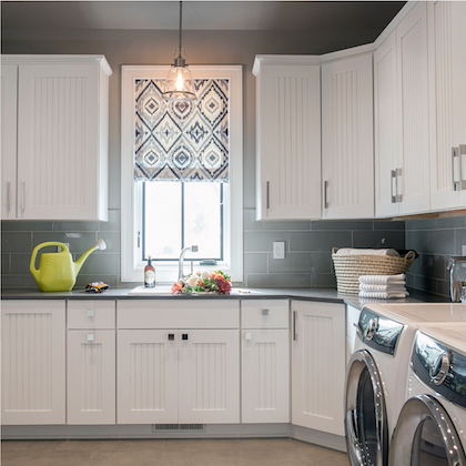 Laundry Room cabinets in Lake Geneva Wi