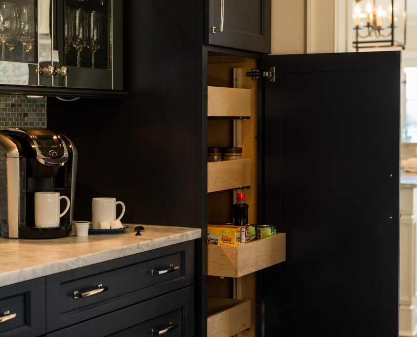 Butlers Pantry Cabinets with pull outs