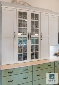 Kitchen & Bath Trend using Bronze cabinet hardwares