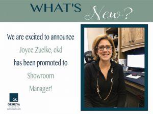 Meet the Geneva Cabinet Company new showroom manager