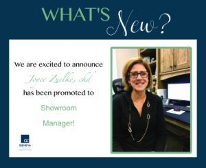 Joyce cabinet company new showroom manager