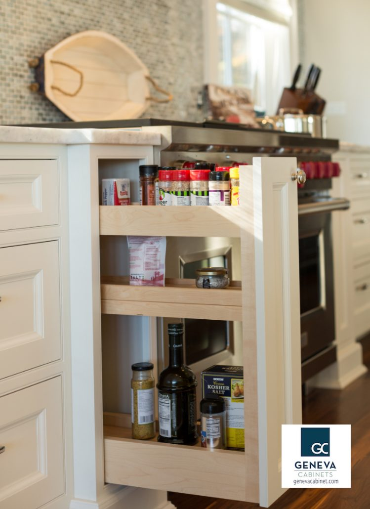 Cabinet Storage Plato pull out spice rack