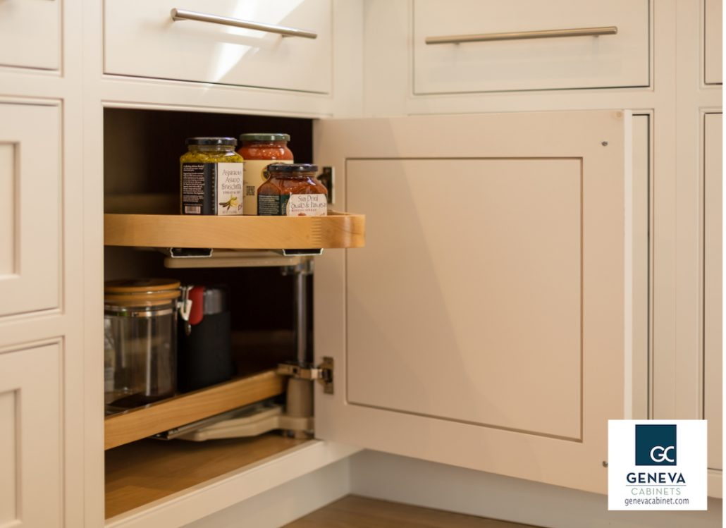 Cabinet Storage Shiloh swing out corner storage