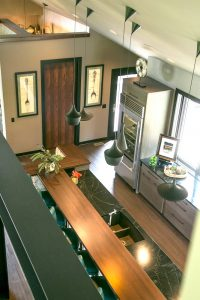 Contemporary Kitchen cabinetry countertops easy care finishes