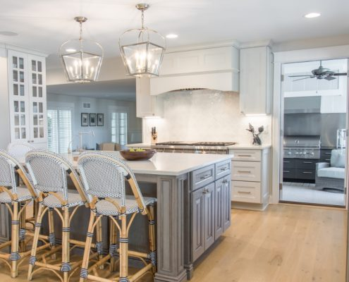 Indoor Outdoor Kitchen Renovation