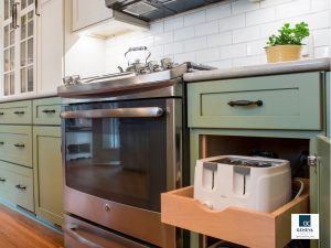 holiday kitchen preparations clean the oven stove top and appliances Medallion cabinets