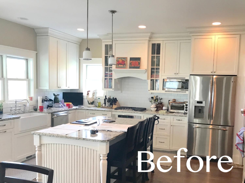 New Kitchen Island Transforms The Kitchen Geneva Cabinet Company Llc
