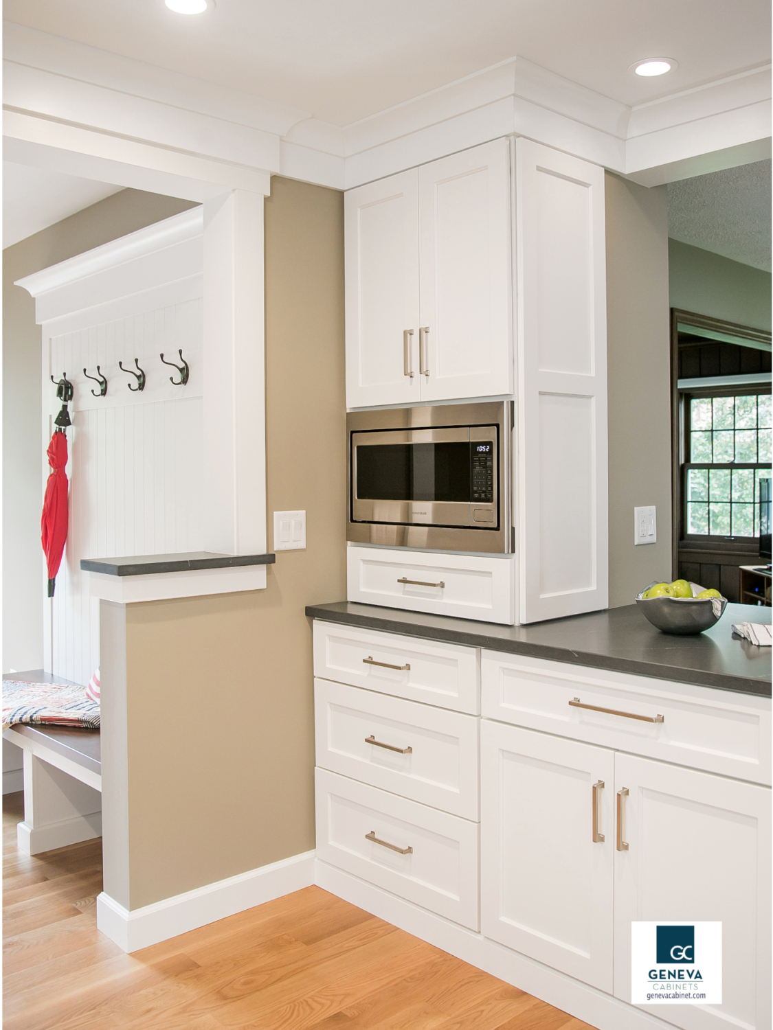 Geneva Cabinet Company Kitchen Remodeling Before and After add storage
