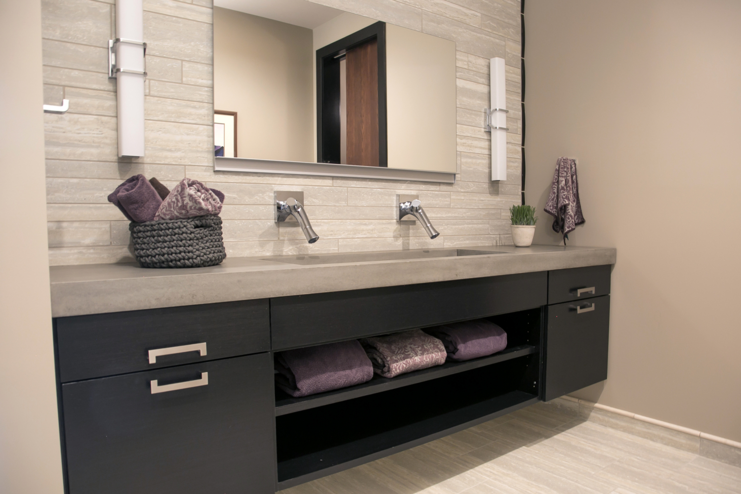 Bathroom Vanity Cabinetry by Geneva Cabinet in Lake Geneva WI