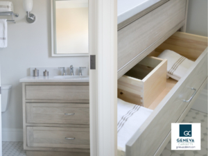 Shiloh u-shaped cabinet drawer